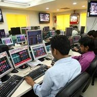BSE Sensex flat, Japan's Nikkei down 1000 pts from top