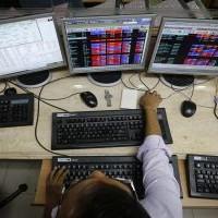 Sensex falls 161 pts on choppy day; realty, utilities drag