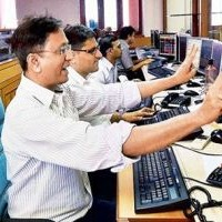 Sensex ends above 27000, heavyweights lead show; cements up